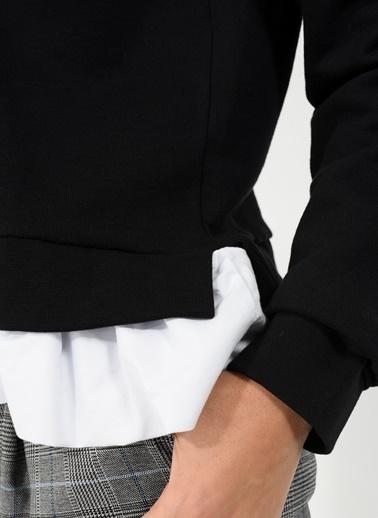 Eteği Fırfırlı Sweatshirt-People By Fabrika